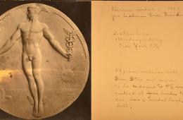 HERMES MEDAL 1925 – LEHMAN BROTHERS BANKERS